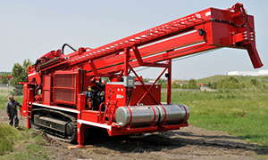 Multi-purpose Dual Rotary Drilling Rig