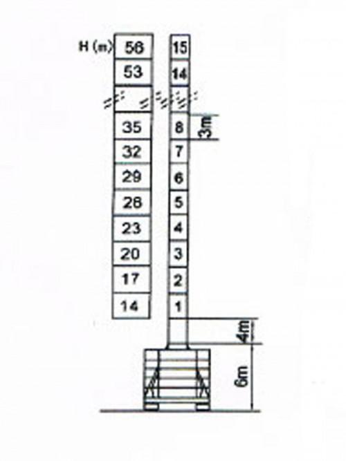 jual  u0026 sewa jiang lu tower crane tipe qtz160f di indonesia